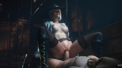 Cowgirl Ashe Creampied